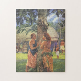 'Portrait of Faase' - John LaFarge Jigsaw Puzzle