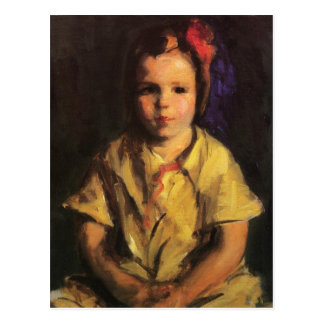 Portrait of Faith by Robert Henri Postcard