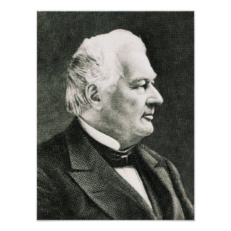 Portrait of Fillmore Millard Poster