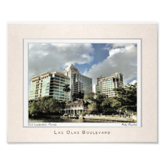 Portrait of Fort Lauderdale Photo Art