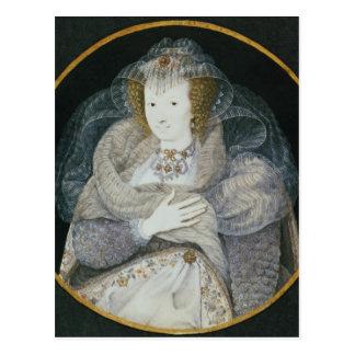 Portrait of Frances, Countess Howard Postcard