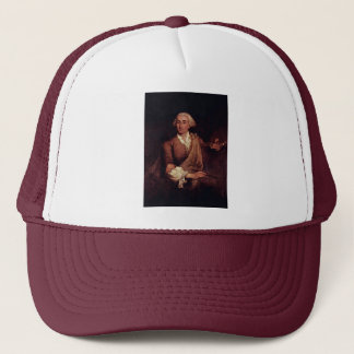 Portrait Of Francesco Guardi. By Longhi Pietro Trucker Hat