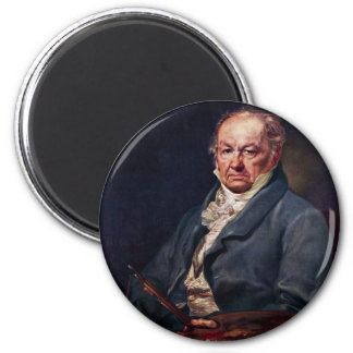 Portrait Of Francisco De Goya By Vicente Lã³Pez Magnet