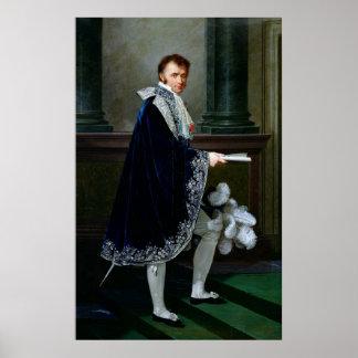 Portrait of Francois-Nicolas Mollien  1806 Print