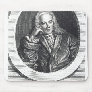 Portrait of Francois Quesnay Mouse Pad