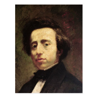 Portrait of Frederic Chopin 2 Postcard