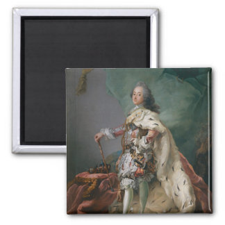 Portrait of Frederick V, 1749 Square Magnet