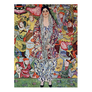 Portrait of Frederika Maria Beer by Gustav Klimt Postcard