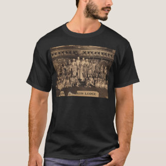 Portrait of Freemasons of the Anglo-Saxon Lodge T-Shirt