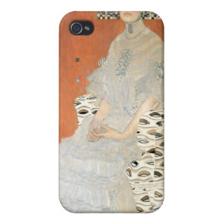 Portrait of Fritza Riedler - Gustav Klimt iPhone 4 Cover