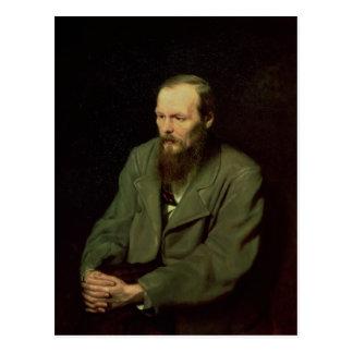 Portrait of Fyodor Dostoyevsky  1872 Postcard