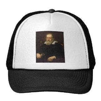 Portrait of Galileo Galilei by Justus Sustermans Trucker Hat