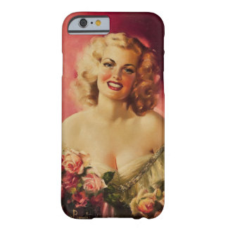 Portrait of Geanette Mormon Pin Up Art Barely There iPhone 6 Case