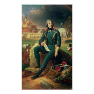 Portrait of General Louis-Lazare Hoche Poster