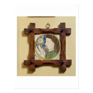 Portrait of Geoffrey Chaucer (c.1340-1400) (cerami Postcard