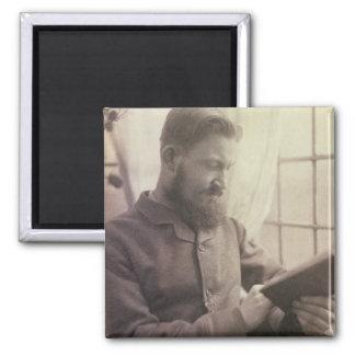 Portrait of George Bernard Shaw (1856-1950) as a Y Magnet