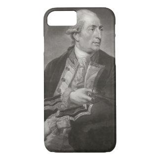 Portrait of George Farmer (1732-79) Captain of HMS iPhone 7 Case