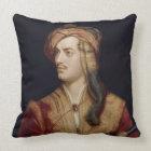 Portrait of George Gordon (1788-1824) 6th Baron By Throw Pillow