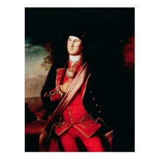 Portrait of George Washington  1772 Postcard