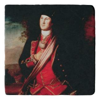 Portrait of George Washington  1772 Trivet
