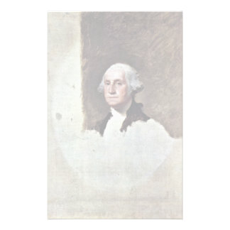 Portrait Of George Washington,  By Gilbert Stuart Stationery