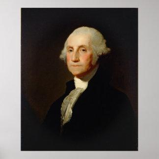 Portrait of George Washington Gilbert Stuart Poster