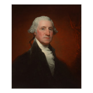 Portrait of George Washington Gilbert Stuart Poster