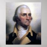 Portrait of George Washington Print