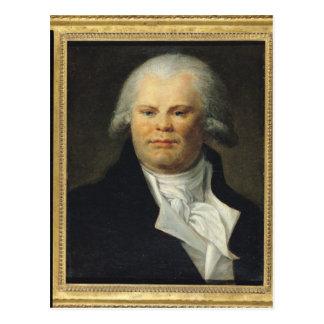 Portrait of Georges Danton Postcard