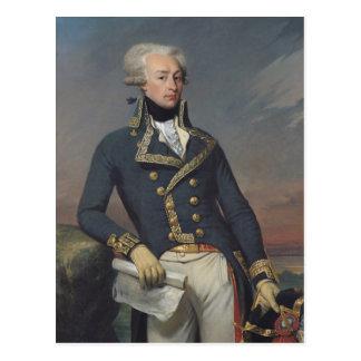Portrait of Gilbert Motier as a Lieutenant Postcard