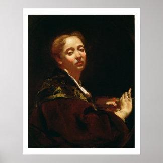 Portrait of Giulia Lama (fl.1728) Poster