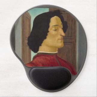 Portrait of Giuliano de Medici by Botticelli Gel Mouse Pad