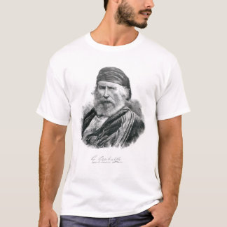 Portrait of Giuseppe Garibaldi T-Shirt