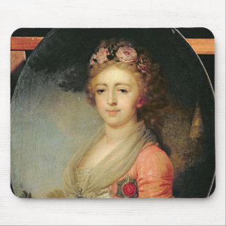 Portrait of Grand Duchess Alexandra, c.1798 Mouse Pad