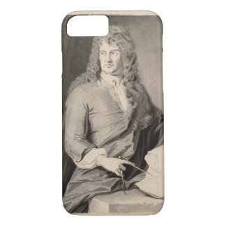 Portrait of Grinling Gibbons (1648-1721) (w/c on p iPhone 7 Case