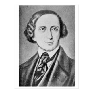 Portrait of Hans Christian Andersen 2 Postcard