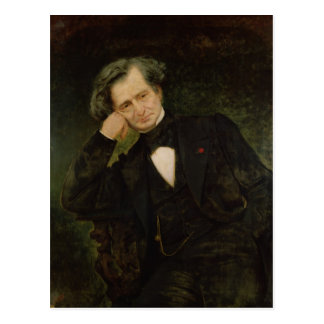 Portrait of Hector Berlioz Postcard
