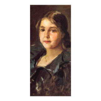 Portrait of Helen Velasquez Chase by William Chase Personalized Rack Card