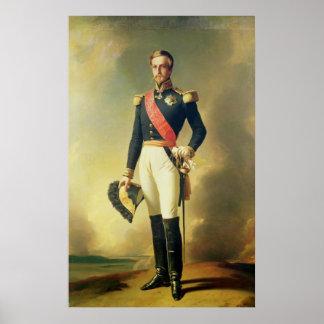 Portrait of Henri-Eugene-Philippe-Louis Poster