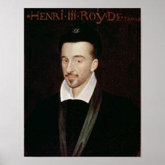 Portrait of Henri III Poster