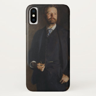 Portrait of Henry Cabot Lodge by JS Sargent iPhone X Case