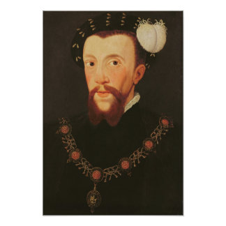 Portrait of Henry Howard, 1546 Poster