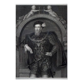 Portrait of Henry Howard  Earl of Surrey Poster