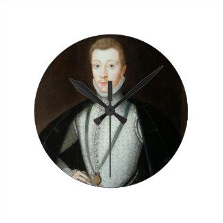 Portrait of Henry Stewart, Earl of Darnley (1545-6 Wall Clocks