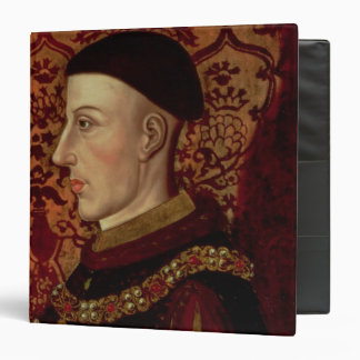 Portrait of Henry V Binder