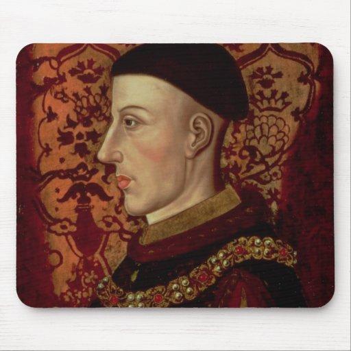 Portrait of Henry V Mouse Pads