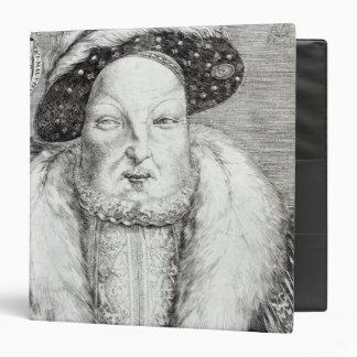 Portrait of Henry VIII, 1548 3 Ring Binders