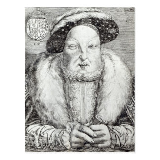 Portrait of Henry VIII, 1548 Postcard