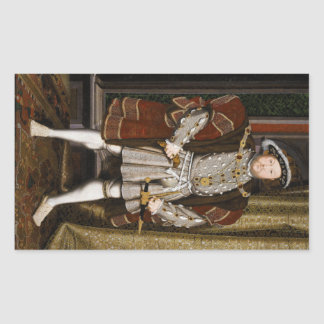 Portrait of Henry VIII by Hans Holbein the Younger Sticker