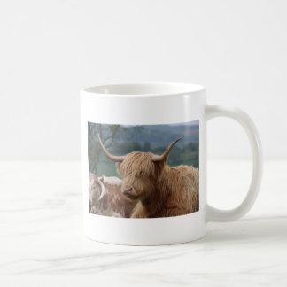portrait of Highland Cattle Coffee Mug